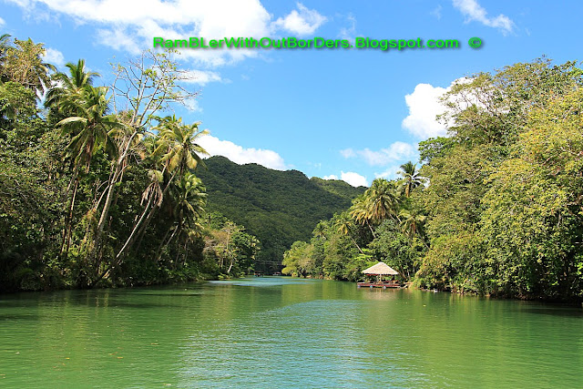 Hut, Loboc River, Bohol, Philippines