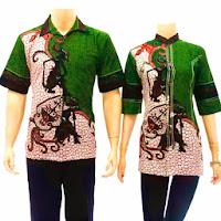 Model Baju Batik Modern Terbaru