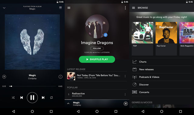 Spotify Best Music Streaming App For Android