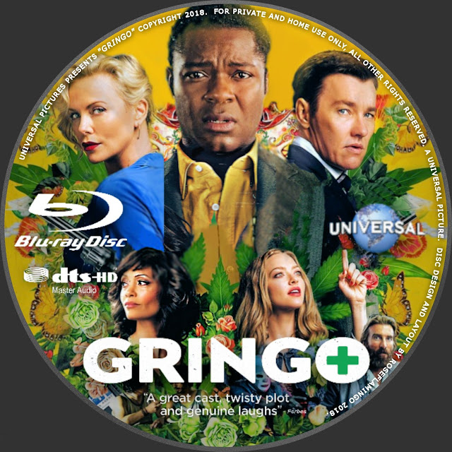 Gringo Bluray Label