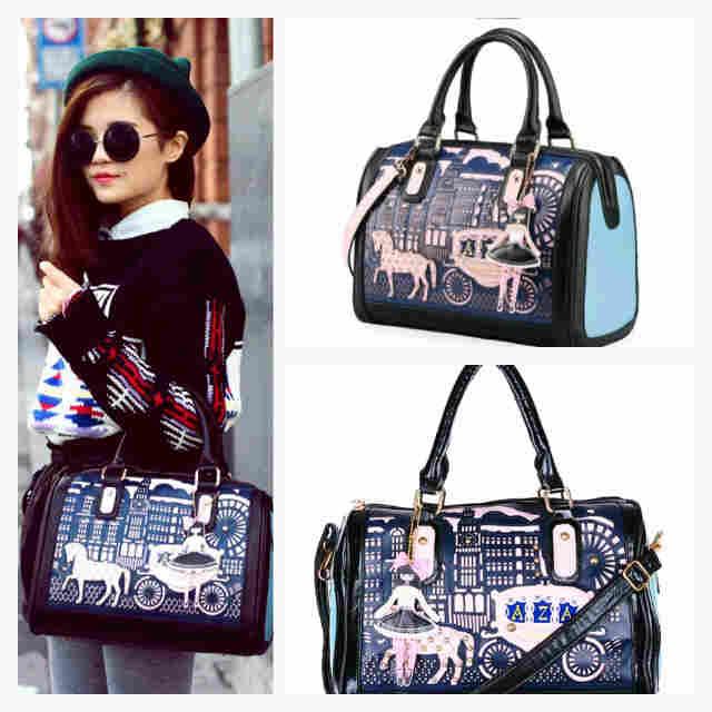 Aza Prince Princess Series Multipurpose Ipad Shoulder Bag Handbag