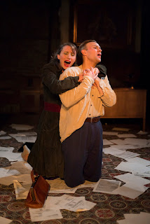 Puccini: Tosca - Becca Marriott, Roger Paterson - King's Head Theatre (Photo Nick Rutter)