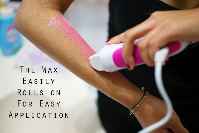 Veet Easywax Electrical Roll-On Kit Giveaway Review