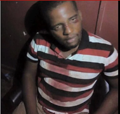 Photo: Man gets the beating of his life for sleeping with his friend's wife