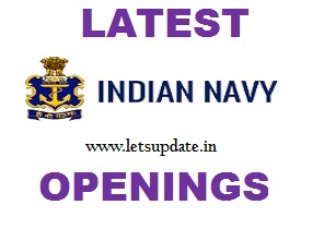 Recruitment of Data Entry Operator in Indian Navy. Apply online before 13-01-2018., letsupdate.in, apply for navy job