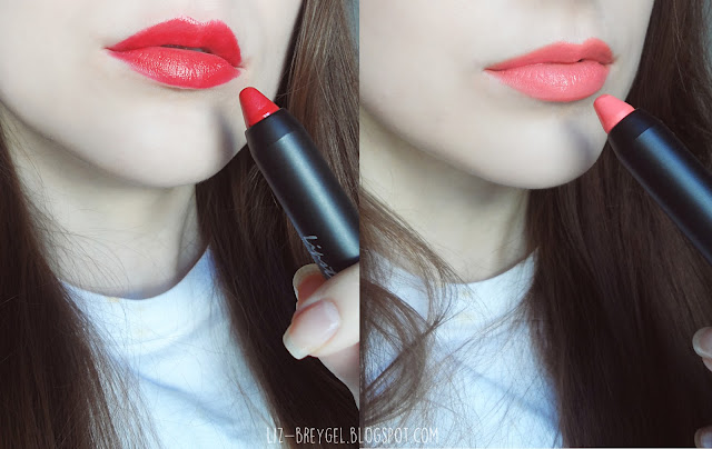 lipstick haul lip crayon haul born pretty store korean makeup review blogger swatches liz breygel
