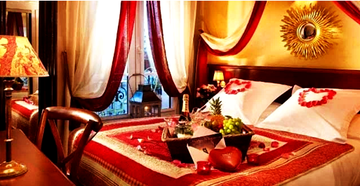 Desain Kamar Tidur Minimalis Romantis