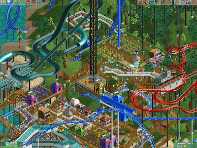 PC - RollerCoaster Tycoon 2 + Time Twister + Wacky Worlds
