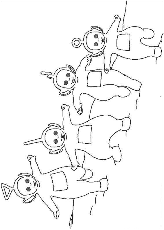 Teletubbies Drawings Coloring ~ Child Coloring