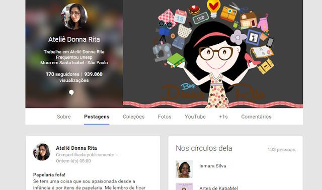 Google + Donna Rita