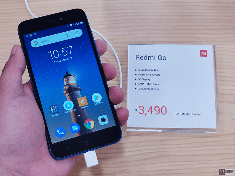 Sale Alert: Redmi Go is down to PHP 3,490