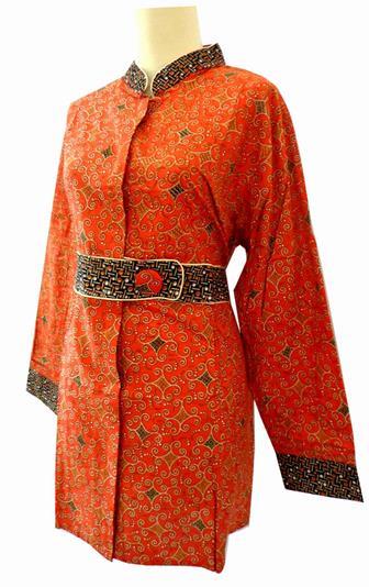 Contoh Baju Seragam Batik Untuk Ibu Guru