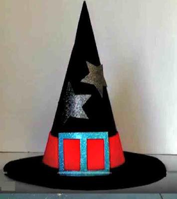 hacer sombrero de bruja