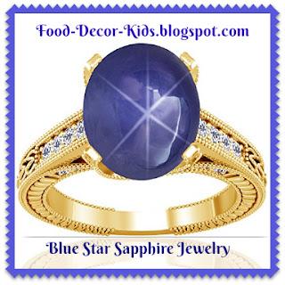 blue star sapphire jewelry
