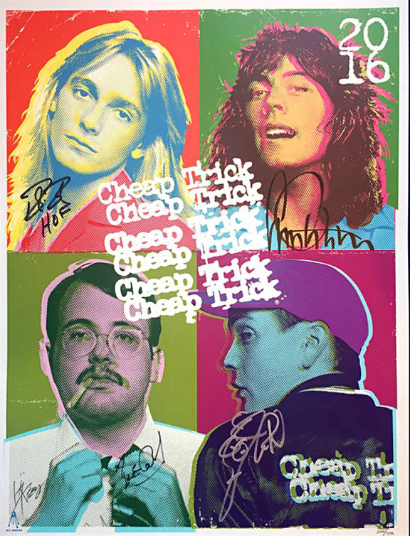 Inside the rock poster frame blog kii arens cheap trick for Cheap prints and posters