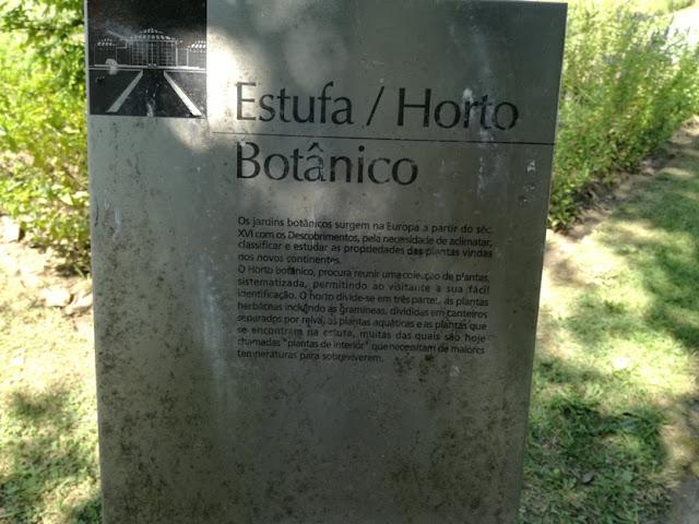 Estufa Horto botânico