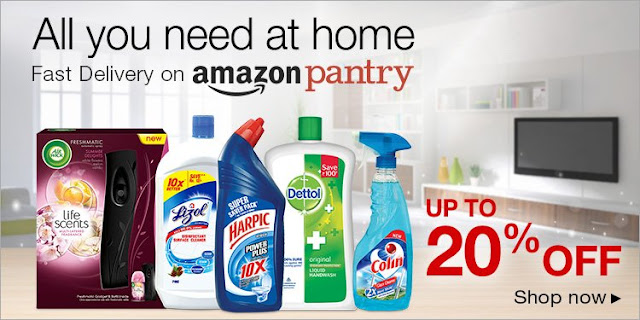Amazon pantry offer