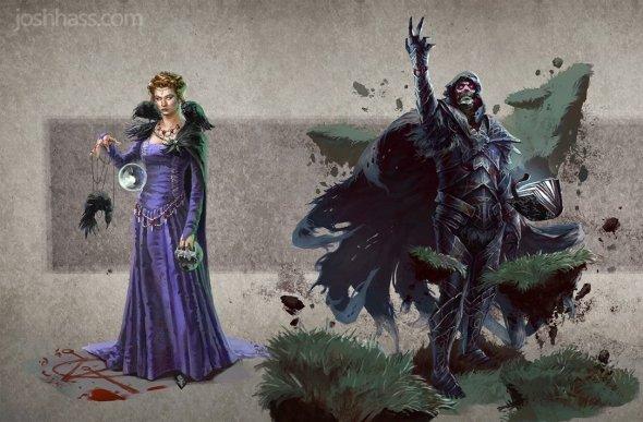 Josh Hass artstation arte ilustrações fantasia games magic the gathering