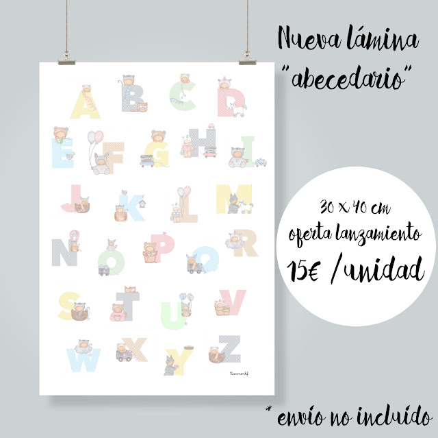 nuevas láminas infantiles abecedarios