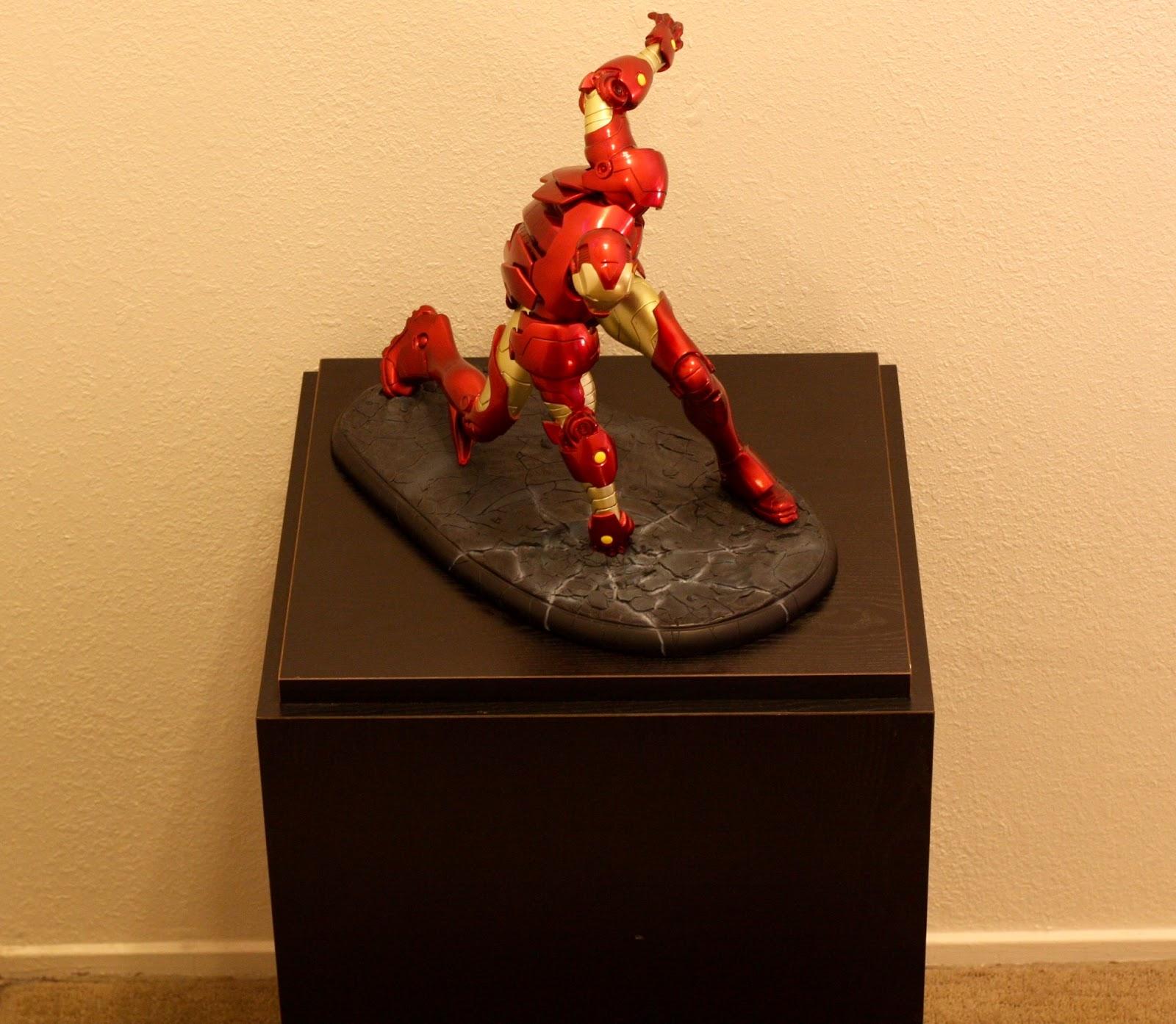 Geek Diy Bam Iron Man Statue Pedestal Display Stand Diy