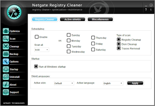 NETGATE Registry Cleaner 13