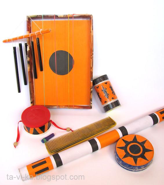 самодельные музыкальные инструменты