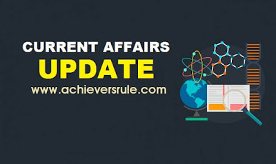 Current Affairs Updates - 10 November 2017