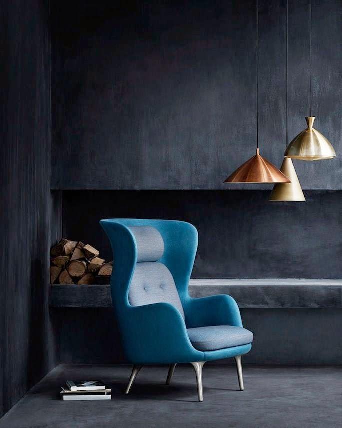 la fabrique d co cuivre et bleu couleurs et mati res. Black Bedroom Furniture Sets. Home Design Ideas