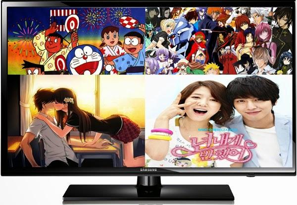 Saluran TV Jepang