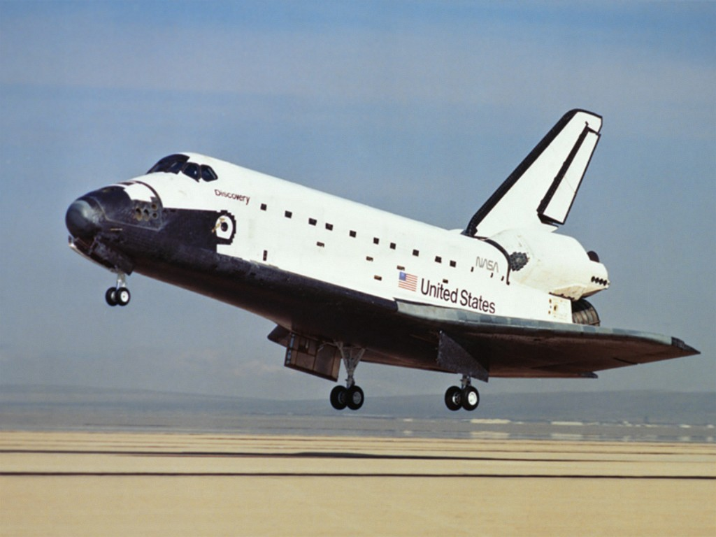 space shuttle landing discovery - photo #44