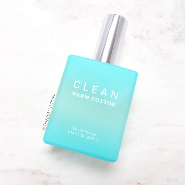 clean perfume warm cotton - the beauty puff