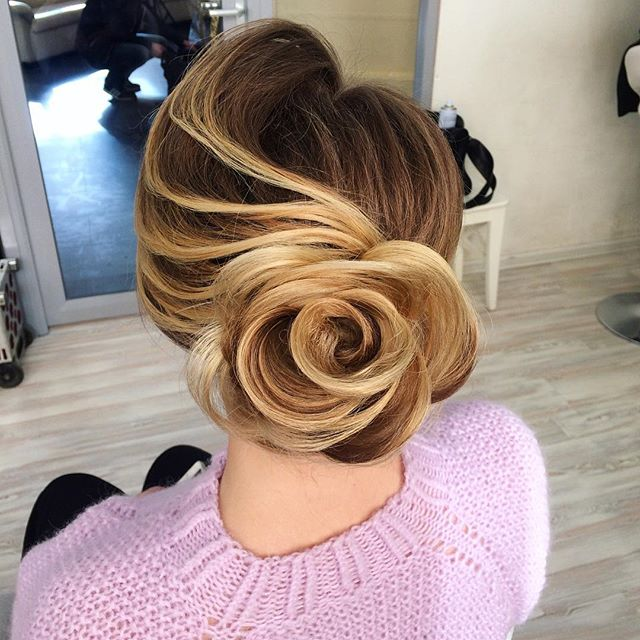 Stunning Bridal Hairstyles by   Russia