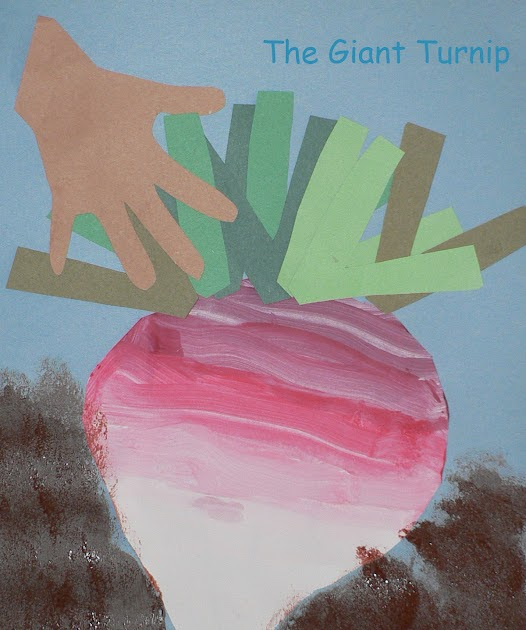 Play N Learn The Giant Turnip V Is For Vegetables