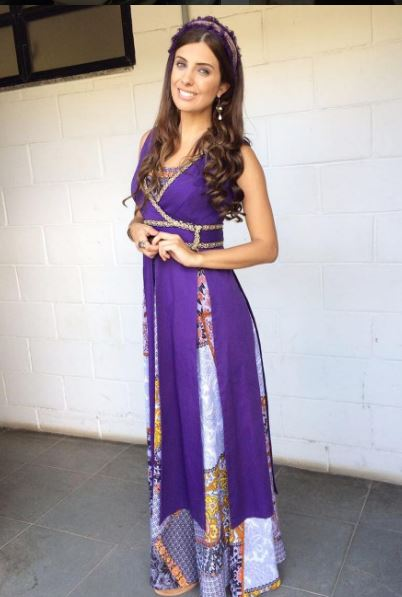 Dalila vestido Hebreia