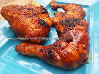 Resep Ayam Bakar Kecap Bumbu Pedas Untuk Menu Tahun Baru 2018