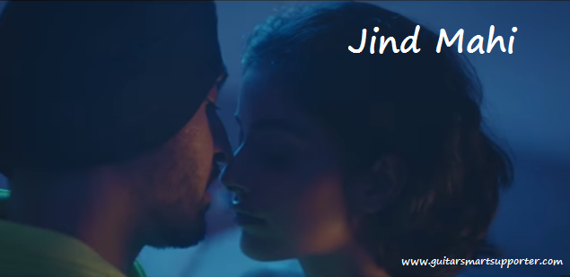 Jind Mahi Guitar Chords with Lyrics   Strumming Pattern | Diljit Dosanjh