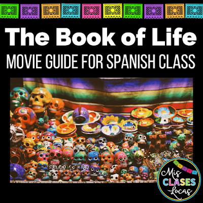 The Book of Life - free movie guide for novice Spanish