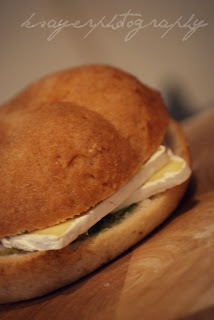 Gluten Free Roll with Camembert
