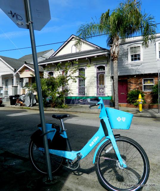 Bicicletas para aluguel em Nova Orleans