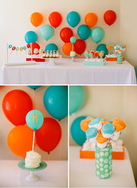 Balloons Birthday Themes For Boys