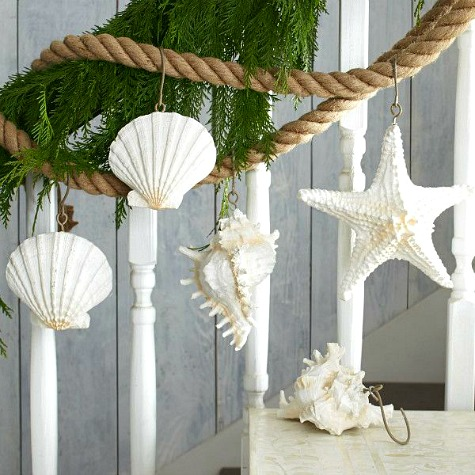 Rope Garland with Shells