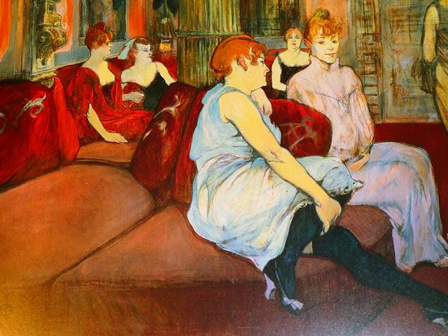 El Salón des Moulins en el Museo Toulouse Lautrec Albi
