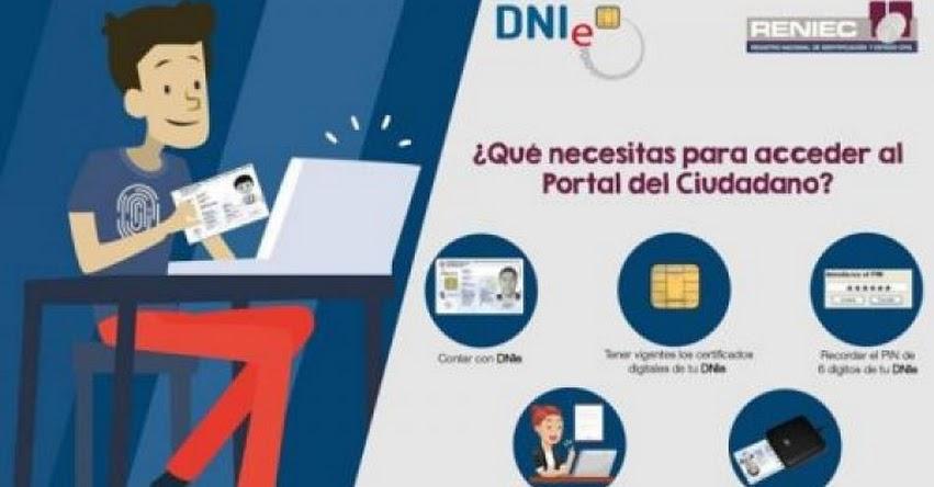 RENIEC: Actualiza el DNIe y registra nacimientos desde casa - www.reniec.gob.pe