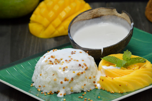 Thai Style Mango Sticky Rice