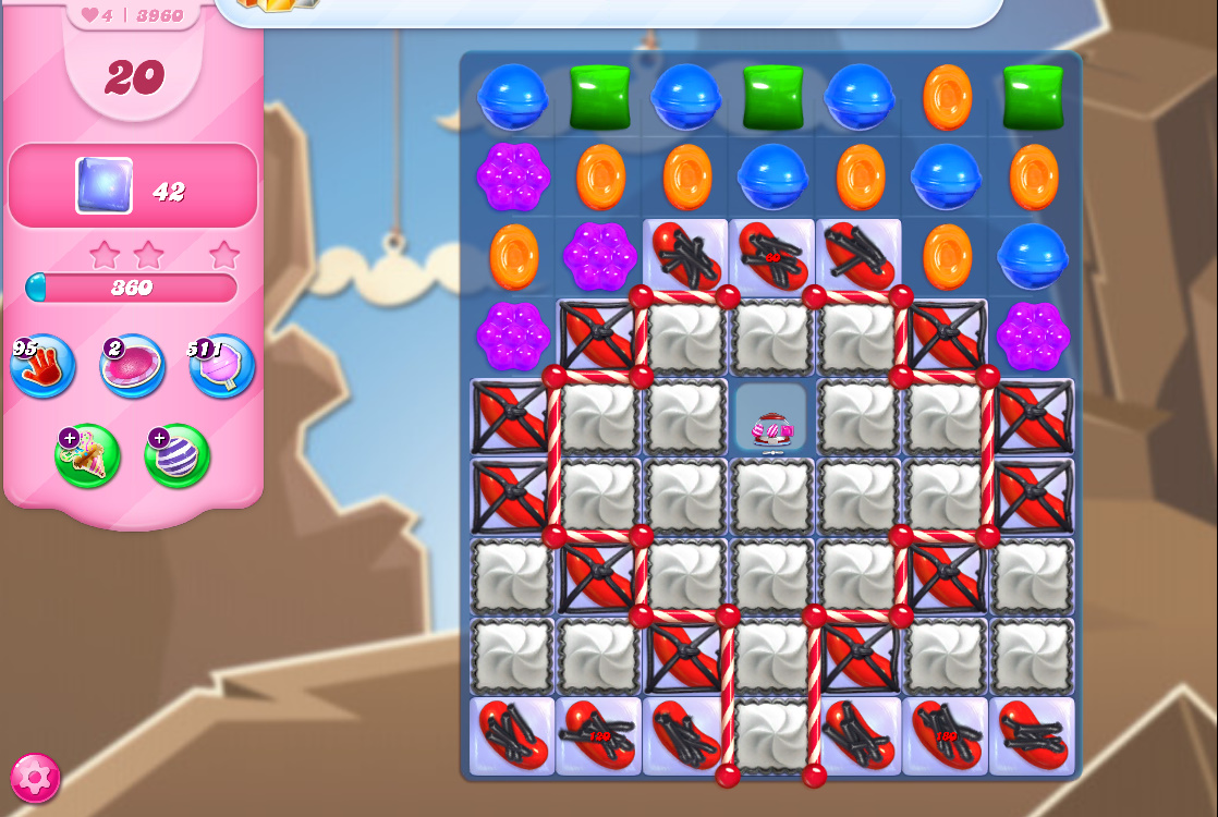 Candy Crush Saga level 3960