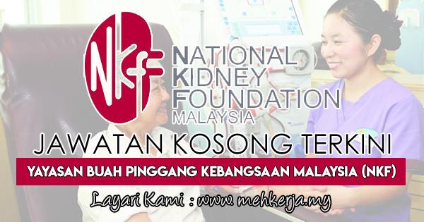 Jawatan Kosong Terkini 2017 di Yayasan Buah Pinggang Kebangsaan Malaysia (NKF)