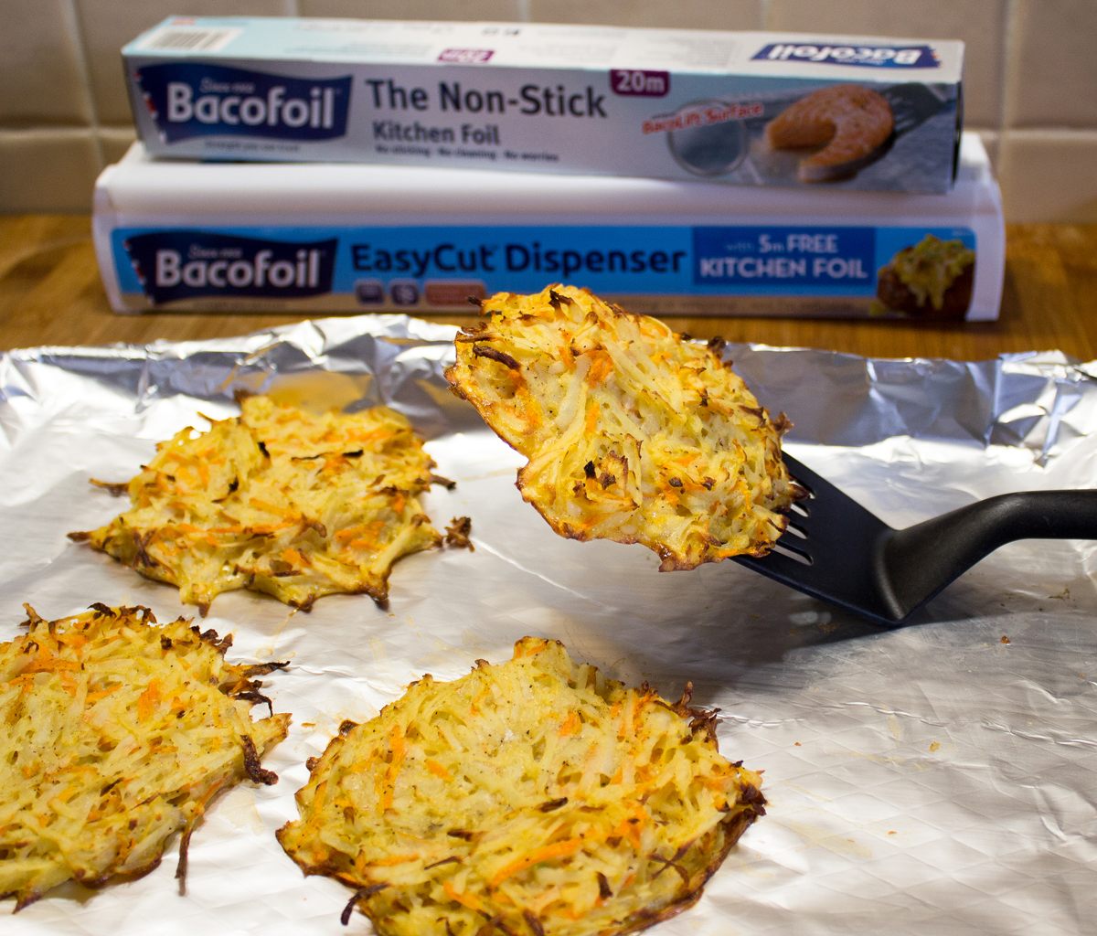 Potato and Carrot Hash Browns