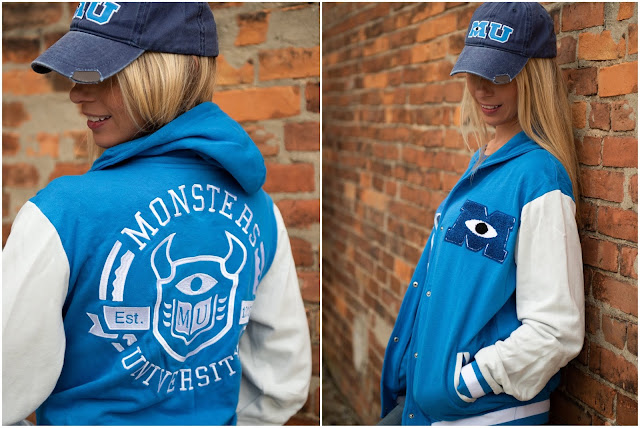 Monsters University letterman jacket sweatshirt from shopdisney