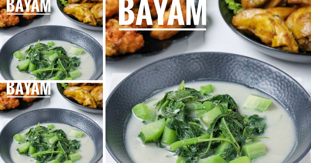 Masakan Rumahan Bobor Bayam Cocok Dengan Aneka Macam Lauk Pendamping Modern Id