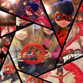 Figurine Bandai LadyBug jouet amusement rigolo